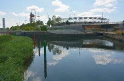 London Olympic stadium Royalty Free Stock Image