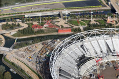 London olympic stadium Stock Image