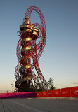 London Olympics 2012. London 2012 Orbit sculpture at the Olympic Park, London Stock Photography
