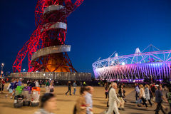 LONDON OLYMPICS 2012 STADIUM Royalty Free Stock Image
