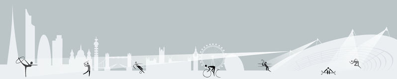 London Olympics banner Royalty Free Stock Photography