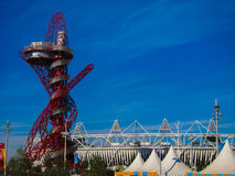 London Olympics Games 2012 Arcelor Mittal Tower an Stock Images