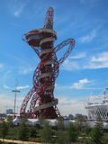 London Olympics Games 2012 Arcelor Mittal Tower an Stock Photos