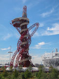 London Olympics Games 2012 Arcelor Mittal Tower an Royalty Free Stock Images