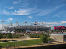 London Olympics Games 2012 Olympic Stadium Royalty Free Stock Image
