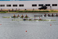 London Olympics Rowing. Rowing heats at the 2012 London Olympics Royalty Free Stock Photography