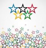 London-Olympische Spiele 2012 vector Hintergrund Stockfotos
