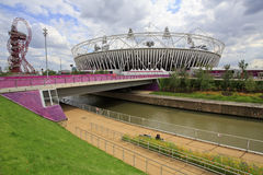 London-olympisches Stadion 2012 Stockfoto