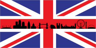London On Union Jack Flag