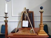 Masonic Temple Symbols Royalty Free Stock Photo