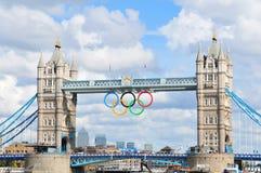 London OS:er Royaltyfri Fotografi