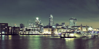 London Over River Stock Image
