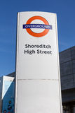London Overground sign Stock Images
