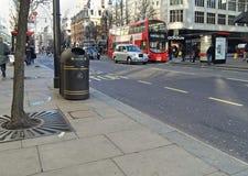 london oxford gata Arkivbild