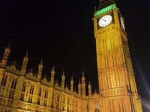 London på natten Arkivbilder