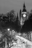 London på natten Royaltyfria Foton