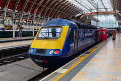 London Paddington station in London, UK Royalty Free Stock Image