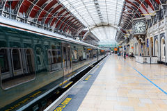 London Paddington station in London, UK Stock Image