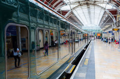 London Paddington station in London, UK Royalty Free Stock Photos