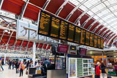 London Paddington station in London, UK Royalty Free Stock Photography