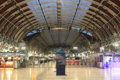 London Paddington Train Station. The concourse of Paddington Train Station, London, UK Royalty Free Stock Photography