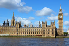 London - Palace of Westminster Royalty Free Stock Photos