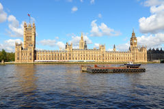 London - Palace of Westminster Stock Photography