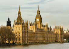 London Palace Of Westminster Big Ben Stock Images
