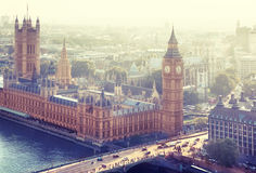 London - Palace of Westminster Royalty Free Stock Photo