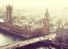 London - Palace of Westminster Royalty Free Stock Images
