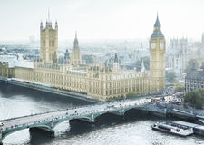 London - Palace of Westminster Stock Images