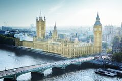 London - Palace of Westminster Royalty Free Stock Image
