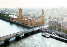 London - Palace of Westminster, UK Royalty Free Stock Photography