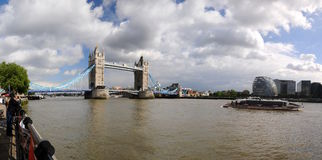 London panorama Royalty Free Stock Photos