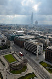 London panorama Arkivfoton