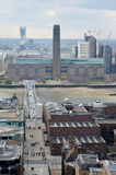 London-Panorama Lizenzfreies Stockfoto