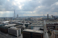 London panorama Arkivfoto