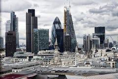 London-Panorama Stockbilder
