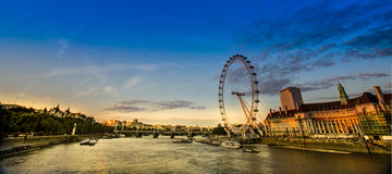 London panorama Stock Photo