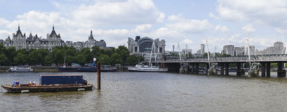 London panorama Arkivbilder