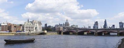 London panorama Royaltyfria Bilder