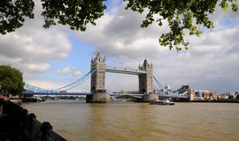 London panorama- Tower Bridge Royalty Free Stock Image