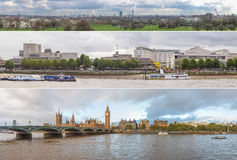 London panoramas Stock Photo