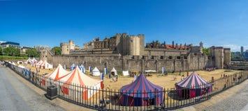 london panoramatorn royaltyfria foton