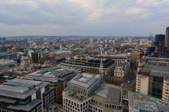 London panoramautsikt, UK arkivfoton