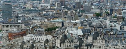 London panoramic background Stock Images