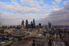 London panoramic view, UK Stock Photography