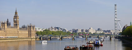 London Panoramic View Stock Photography