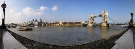 London-panoramische Ansicht Lizenzfreie Stockfotos