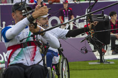 London 2012 Paralympic game Royalty Free Stock Photos